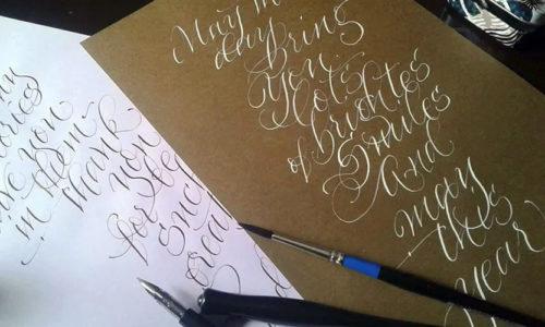 Каллиграфия и литтеринг